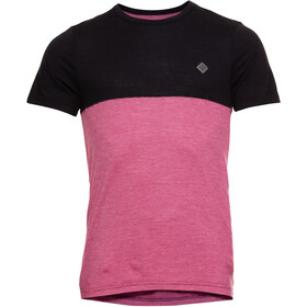 Triple2 Tuur Merino Tencel T-shirt Heren, beet red